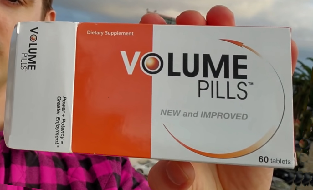 volume pills package