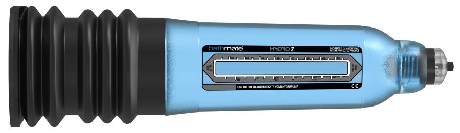 Bathmate Hydro 7 blue sideways